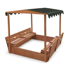 Badger Basket Covered Convertible Cedar Sandbox with Canopy and Two Bench Seats by Badger Basket, http://www.amazon.com/dp/B008RVN9FW/ref=cm_sw_r_pi_dp_rRlmrb11D3XEG