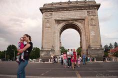 Arcul de Triumf, București by Iulian.Dnistran.ro, via Flickr Louvre, Building, Travel, Viajes, Buildings, Destinations, Traveling, Trips, Construction