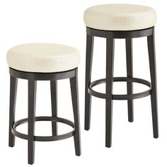 Behold the Stratmoor—a sleek stool with dizzying good looks. Upholstered and self-welted, this popular stool is a fresh, fashion-forward look for hardworking kitchens. When someone orders another round from this perch, it means one of two things: They want another drink, or they want to take another spin on the stool. Not recommended: Both at once.