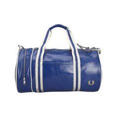 Sac Classique Barrel bleu Fred Perry