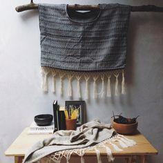 @sanjacinto fotografió nuestros nuevos crop huipiles de algodón tejidos en #Contla, #Tlaxcala por la familia Xochitemol.  #algodón #cotton #textil #textile #diseñotextil #textiledesigns #comerciojusto #fairtrade #modaetica #eticfashion