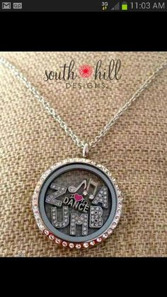 Zumba!  Order your locket today!!!   http://www.southhilldesigns.com/giftedgolden/default