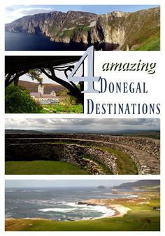 "4 Amazing Destinations in County Donegal, Ireland. The most remote county in the Republic of Ireland is receiving some much-deserved attention this year. National Geographic Traveller described Donegal as being ""in a real sweet spot- off radar and hard to access, but on the cusp of a breakthrough."" These 4 spots should not be missed if you make the trip to Ireland's most 'geographically isolated' county."