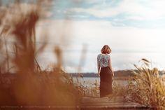 Miss summer Hay #woman #girl #summer #model #fashion #beach #sea #sun #photography