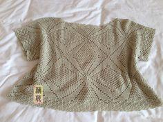 Delicadezas en crochet Gabriela: Blusas con diseños y patrones