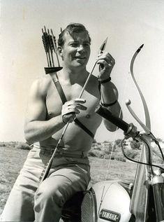 William Shatner  (YOUNG Shatner wasn't bad!)