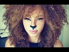 #Lion #makeup for #Halloween