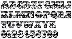 Victorian Lettering Styles   ... few free fonts ornamental caps typefaces…