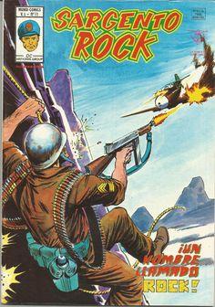 SARGENTO ROCK Mundi-Cómics Vertice Nº 11