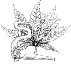weed tattoo art | Similar Deviations