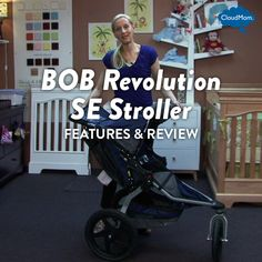Features and Review of the BOB Revolution SE Stroller | CloudMom #parenting #babygear #motherhood
