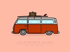 Volkswagen Kombi by Bryan Riley