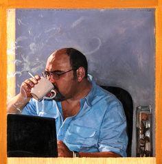 """Pablo Tusset, Autor von """"Oxford 7"""" (erscheint am 1.3.2013) / Bild: Gonzalo Goytisolo"""