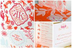 Katharine & Kent - Luxury Wedding Invitations - Details - Destination - Ceci Couture - Ceci Wedding - Ceci New York