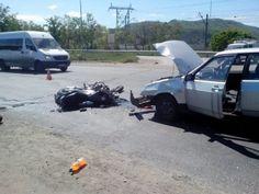 Под Жигулевском разбился мотоциклист (фото)