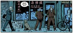 From Hawkeye Vol. 4, no. 1, by Fraction-Aja-Hollingsworth