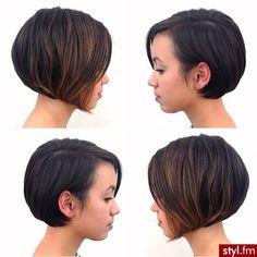 Voici les 20 coiffures courtes les plus intéressantes vues sur le web ! - Coupe de cheveux