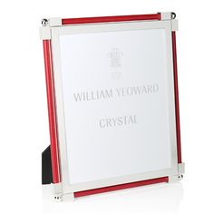 William Yeoward Crystal William Yeoward Classic Shagreen Photo Frame, x Home - Bloomingdale's Scarlet, Crystals, Classic, Frame, Color, Products, Derby, Picture Frame, Colour