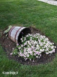 Idea for flowerbed