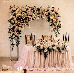 Это любовь ♥️♥️♥️♥️♥️! С каждым цветочком влюблялась в эту арку все больше ! @snegirevdima , спасибо за крутых молодожёнов ! #выезднаярегистрацияволгоград #свадебноеоформлениеволгоград #безручко #оформлениесвадьбыволгоград