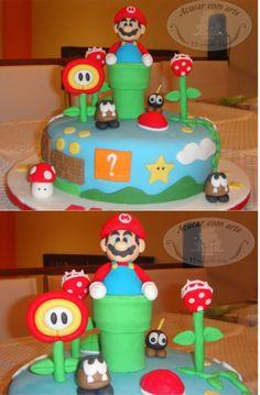 1000 Images About Mario Cake On Pinterest Mario Cake