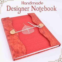 Indianshelf New Handmade Designer Notebook - Shop at https://Indianshelf.in #notebook #handmadenotebook