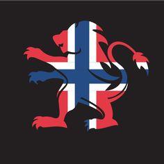 Norwegian flag heraldic lion Free Vector Images, Vector Free, Norwegian Flag, Flag Vector, Public Domain, Norway, Vectors, Lion, Clip Art