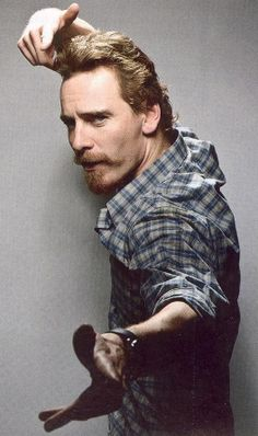 Fassbender with special facial hair.  :p