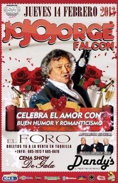 Eventos - Jorge Falcon y Los Dandys @ El Foro, Tijuana 2013