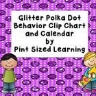 This bright glittery behavior clip chart is a great classroom management tool.  All students start the day on green which means ready to learn.  Th...