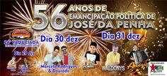 VENHA-VER  NOTICIAS: JOSÉ DA PENHA /RN COMEMORA 56 ANOS DE EMANCIPAÇÃO ...