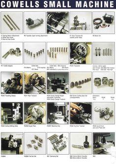 Micro Lathe, Small Lathe, Lathe Accessories, Steam Engine, Tour, Cufflinks, Bench, Live, Wedding Cufflinks