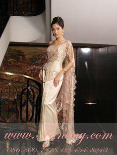 123b1943c83 Thai Traditional Outfit  wedding Dress  gold  silk