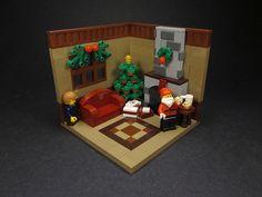 Lego house on christmas