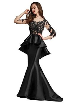 Topquality2016 Womens Prom Dresses Long 2016 Chiffon Evening Gown Size 6  Pink    Be sure aced90c1d945