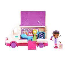 Doc McStuffins Mobile Clinic Toy by Disney via https://www.bittopper.com/item/doc-mcstuffins-mobile-clinic-toy-by-disney/