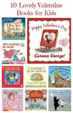 Valentine books for kids -- Cuddle up with the kids for a few of these love-ly reads!