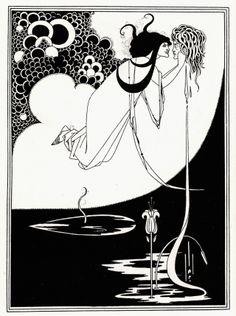 Illustration by Aubrey Beardsley www.fragilityofbeauty.com