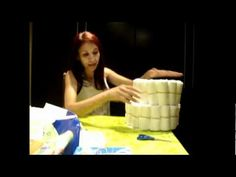 How to Make a Towel Cake - Fun Gift Ideas and Centerpieces - YouTube