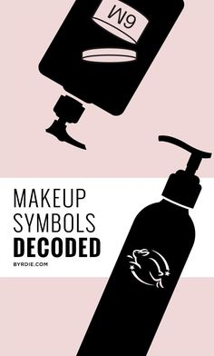 The symbols on your makeup labels, decoded // via @byrdiebeauty