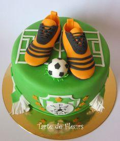 Recette gateau anniversaire theme football