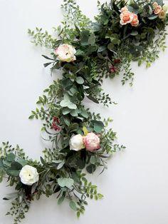 Floral Garland Wedding Garland Eucalyptus Garland $300 6feet