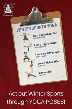 Try this quick and easy winter activities yoga flow sequence in your home, studio, or classroom. What other winter yoga poses could you invent?