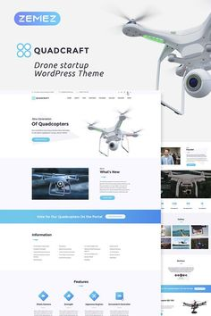 Quadcraft is a great theme for startup projects! If you are going to do business with drones, you are a lucky one as you`re getting completely equipped greatly crafted WordPress Theme! #startup #drawnstoredesign #wordpresstheme #wordpressdesign https://www.templatemonster.com/wordpress-themes/quadcraft-drone-startup-wordpress-theme-67879.html?aff=vasanth1993