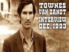 Townes Van Zandt Interview 1993 - RARE - YouTube