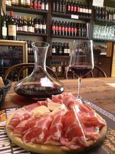 Tamburini in Bologna, Emilia-Romagna Tamburini (Via Caprarie 1; 39-051-234-726 ; tamburini.com) a deli that also serves more than 200 wines by the glass