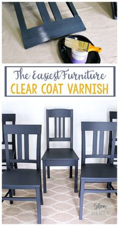 The easiest furniture clear coat varnish   top coat sealer for painted furniture, crafts home decor   Stowandtellu.com