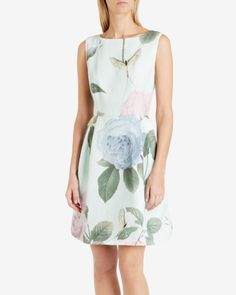 Distinguishing rose dress - Mint | Dresses | Ted Baker