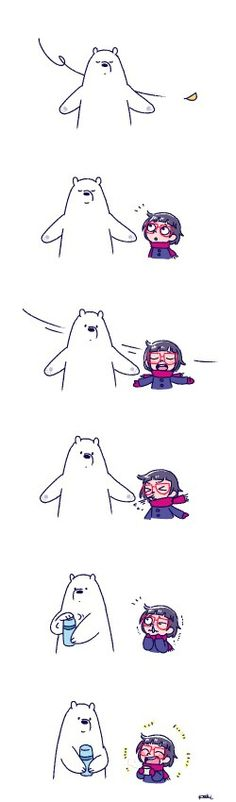 Ice Bear And Chloe