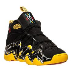 ADIDAS CRAZY 8 MUTUMBO BLACK YELLOW RED BASKETBALL SHOES C75766 US$160